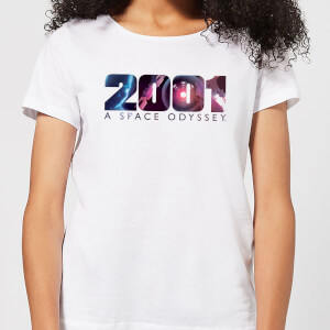2001: A Space Odyssey 2001 HAL Logo Women's T-Shirt - White