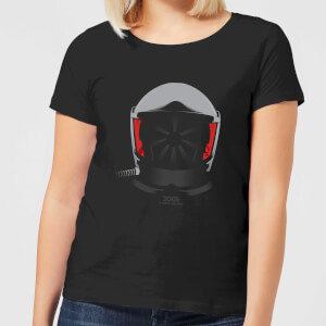 2001: A Space Odyssey Space Suit Helmet Women's T-Shirt - Black