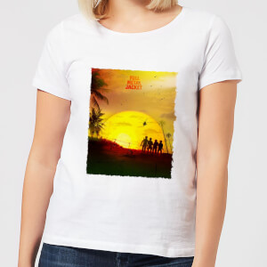 Full Metal Jacket Born To Kill Sunset Women's T-Shirt - White