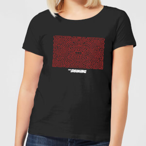 T-Shirt Shining Patterns - Nero - Donna