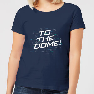 Crystal Maze To The Dome! Women's T-Shirt - Navy
