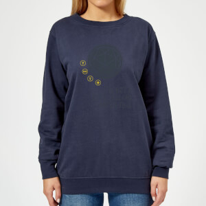 Crystal Maze I've Got A Good Feeling About This- Industrial Women's Sweatshirt - Navy
