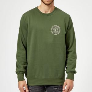 Crystal Maze Fast And Safe Pocket Sweatshirt - Forest Green