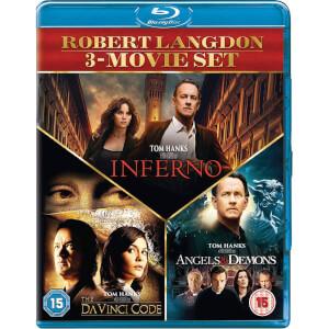 Inferno, Angels & Demons & Da Vinci Code Boxset (Non Uv 2019 Repackage)