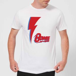 David Bowie Bolt Men's T-Shirt - White