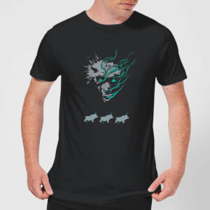 Magic The Gathering Throne of Eldraine Big Bad Wolf Men's T-Shirt - Black