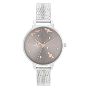 Olivia Burton Women's Pearly Queen Watch - Silver