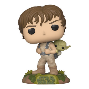 Star Wars Empire Strikes Back Training Luke with Yoda Funko Pop! Figuur