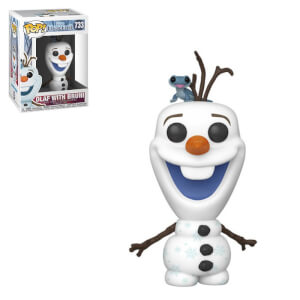 Disney Frozen 2 Olaf with Fire Salamander Funko Pop! Vinyl