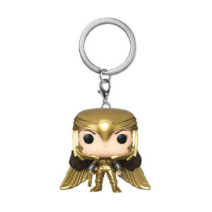Wonder Woman 1984 Gold Power Pose Funko Pop! Keychain