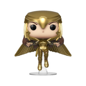 Figurine Pop! Wonder Woman Or Volant Métallique - Wonder Woman 1984