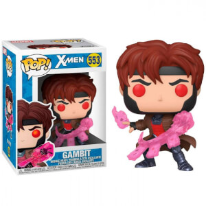 Figurine Pop! Gambit Avec Cartes - X-Men Classic