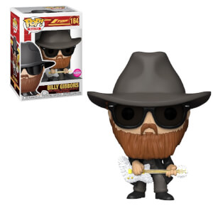 Pop! Rocks ZZ Top Billy Gibbons Flocked Funko Pop! Vinyl
