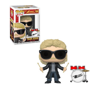 Pop! Rocks ZZ Top - Frank Beard Figura Funko Pop! Vinyl