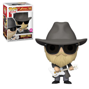 Pop! Rocks ZZ Top Dusty Hill Flocked Pop! Vinyl Figure