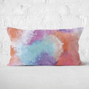 Watercolour Rectangular Cushion