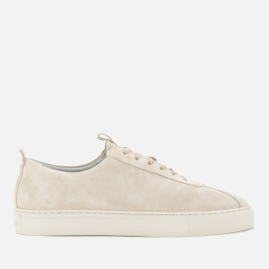 Grenson Men's Sneaker 1 Suede Cupsole Trainers - Stone