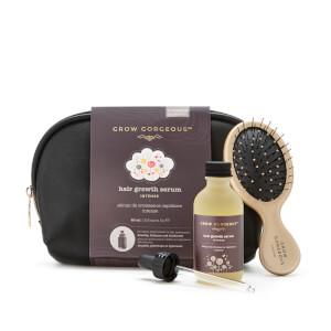 Grow Gorgeous Hair Growth Serum Intense (60ml) with Bag/Mini Hair Brush (Worth £60.00)