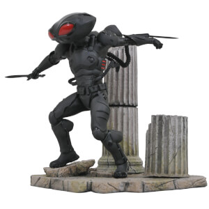 Statuette Black Manta en PVC tirée du film Aquaman, DC Comics Gallery – Diamond Select