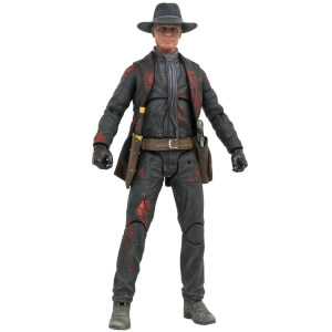 Action figure Px Uomo in nero consumato dalla battaglia, da Westworld - Diamond Select