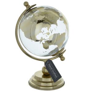 Gold Decorative Globe (26cm)