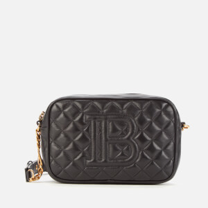 Balmain Women's Quilted Camera Bag - Black
