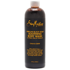 SheaMoisture African Black Soap Soothing Body Wash 384ml