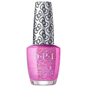 OPI Hello Kitty Limited Edition Nail Polish - Let's Celebrate! Infinite Shine 15ml