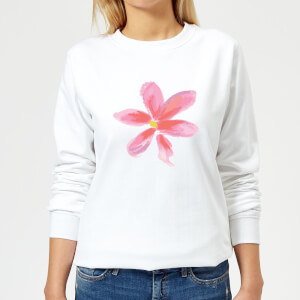 Flower 2 Women's Sweatshirt - White