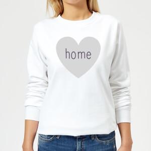 Home Heart Women's Sweatshirt - White