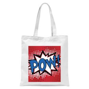 Pow! Tote Bag - White