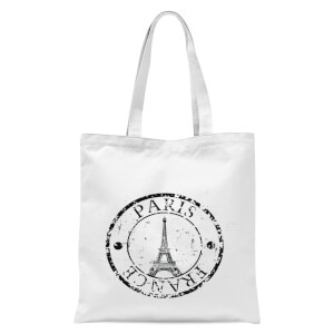 Paris France Tote Bag - White
