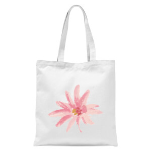 Flower 6 Tote Bag - White