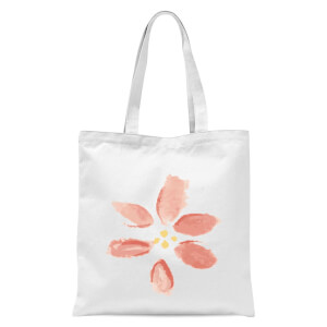Flower 8 Tote Bag - White