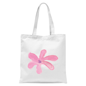Flower 11 Tote Bag - White