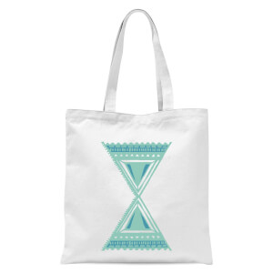 Abstract Pattern 3 Tote Bag - White