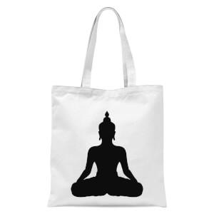 Buddha Tote Bag - White
