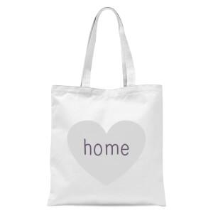 Home Heart Tote Bag - White