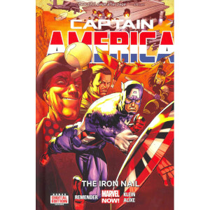 Captain America Prem Hardcover Vol 04 Iron Nail
