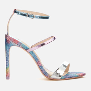 Sophia Webster Women's Rosalind Triple Strap Heeled Sandals - Mermaid Glitter