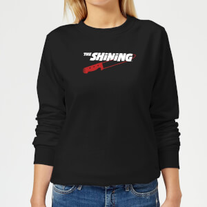 The Shining Red Knife Women's Sweatshirt - Black