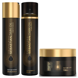 Sebastian Professional Dark Oil Deep Nourishing Bundle (Worth £65.20)