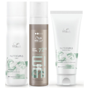 Wella Professionals Care NutriCurls Ultimate Waves Bundle (Worth £43.00)
