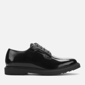 Paul Smith Men's Mac Hi-Shine Leather Derby Shoes - Black