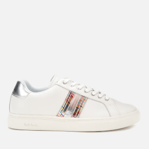 Paul Smith Women's Lapin Leather Cupsole Trainers - White