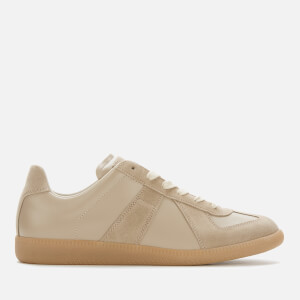 Maison Margiela Men's Replica Calfskin/Suede Low Top Trainers - Moulton