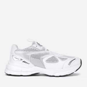 Axel Arigato Men's Marathon Chunky Running Style Trainers - White/Silver