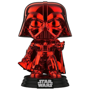 Star Wars Red Chrome Darth Vader EXC Pop! Vinyl Figure