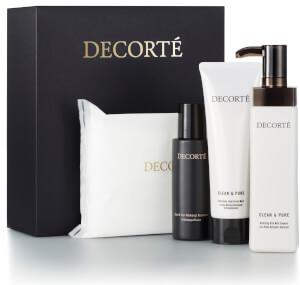 Decorté Clean & Pure Facial Cleansing Essentials (Worth $138.00)