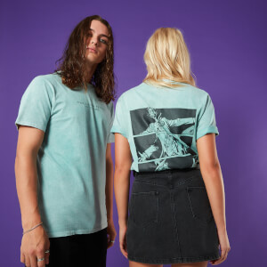 Jack In The Box Unisex T-Shirt - Mint Acid Wash